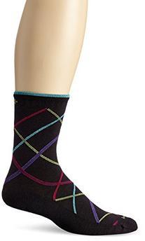 Sockwell Women's Vibe Socks, Black, Small/Medium