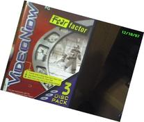 VideoNow 3 Disc Pack Fear Factor