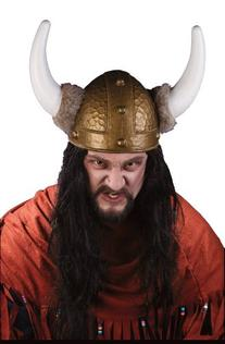 Viking Helmet - Brown
