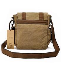 Canvas Messenger Bag ZLYC Vintange Shoulder Bag Military