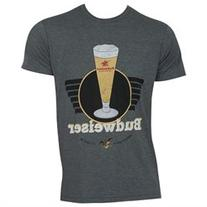 Budweiser Vintage Grey Tee Shirt