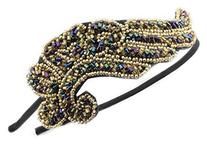 FOONEE Vintage Womens Headband Rhinestone Headwrap Princess