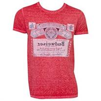 Men's Budweiser Vintage Label T-Shirt