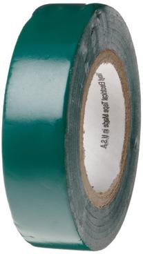 """Scotch Vinyl Electrical Color Coding Tape 35, Green, 1/2"""""""