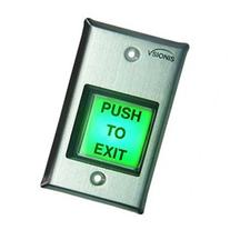 Vsionis VIS-7000 Green Square Request to Exit Button for