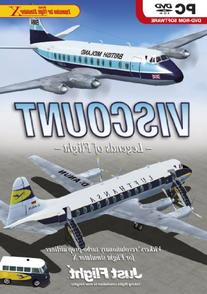 Viscount Professional for Flight Simulator X PC DVD Game UK