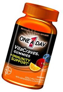 One-A-Day VitaCraves Gummy with Immunity Support