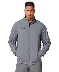 Under Armour Men's Vital Warm-Up Jacket, Steel/Graphite, X-