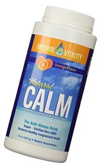 Natural Vitality Natural Calm Magnesium, Powder, Organic