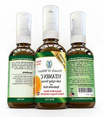 20% Vitamin C Anti Aging Serum with Hyaluronic Acid - Best