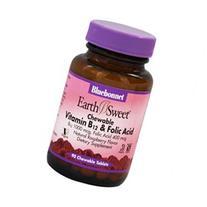 Vitamin B-12 & Folic Acid Bluebonnet 90 Chewable