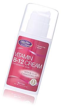 Life-Flo Vitamin B-12 Skin Cream, 4 Ounce