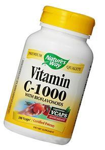 Nature's Way Vitamin C 1000 with Bioflavonoids, 100 Vcaps-