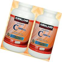 Kirkland Signature Vitamin C 1000mg, with Rose Hips 500 Tabs