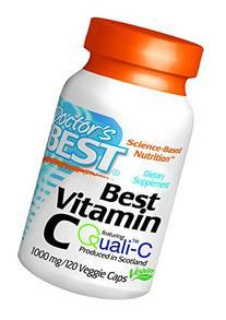 Doctor's Best Vitamin C -- 1000 mg - 120 Veggie Caps