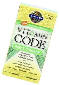 Garden of Life Vegan B Vitamin - Vitamin Code Raw B Complex