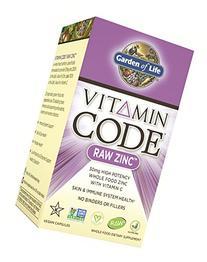 Garden of Life Vegan Zinc - Vitamin Code Raw Zinc Whole Food