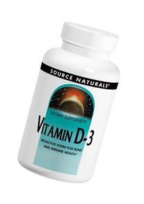 Source Naturals Vitamin D-3 5000IU, Bioactive Form for Bone