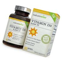 NatureWise Vitamin D3 5,000 IU for Healthy Muscle Function,