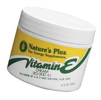 Nature's Plus - Vitamin E Cream, 2.2 Oz. 2 Pack