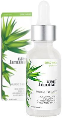 InstaNatural Vitamin C Serum with Hyaluronic Acid & Vit E -