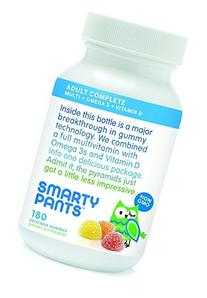 SmartyPants Vitamins Adult Gummy Multivitamins Plus Omega 3'