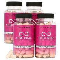 4 Months Hairfinity Vitamins Healthy Hair Rapid Long Hair