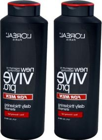 L'Oreal Paris Vive Pro for Men Daily Thickening Shampoo,