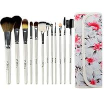 ACEVIVI 12 pcs Professional Makeup Brush Set, Vivid Rose