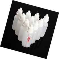 Leegoal 50pcs 30ml LDPE Plastic Squeezable Eye Liquid