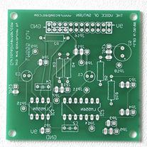 Synthrotek Voice of Saturn Synthesizer PCB