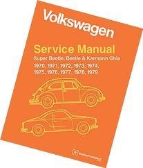 Volkswagen Service Manual Super Beetle, Beetle & Karmann