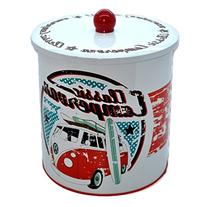 Official VW Classic Campervan Cookie Biscuit Tin Canister