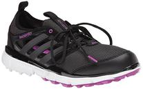 adidas Women's W Climacool II Golf Shoe, Core Black/Iron
