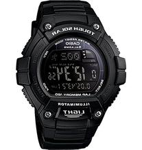 "Casio Men's W-S220-1BVCF ""Tough Solar"" Running Watch with"