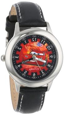 "Disney Kids' W000092 ""Cars"" Stainless Steel Time Teacher"
