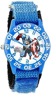 Marvel Kids' W001726 Captain America Analog Display Analog