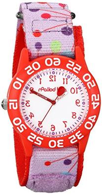 "Red Balloon Kids' W001884 ""Time Teacher"" Plastic Watch with"