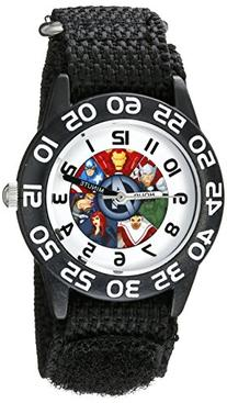 Marvel Kids' W002624 Avengers Time Teacher Analog Display
