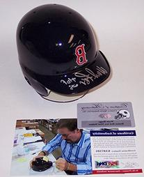 Wade Boggs Autographed Hand Signed Boston Red Sox Mini