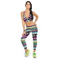 Towallmark High Waist Yoga Fitness Sport Pants Printed