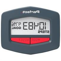 Perfect Fitness Walk or Run Step and Distance Pedometer