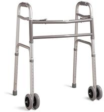 Medline Deluxe Bariatric Walker - Extra-Wide Two-Button