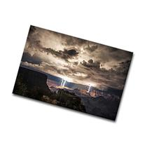 Wall Art Painting Lightning Strikes In The Grand Canyon Dark