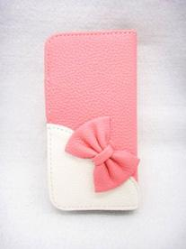 Wallet Bowknot Bow Girl Cute lovely Flip Pouch Cover Card