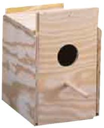 Ware Wood Nesting Box - finch Regular
