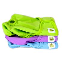 Pet Magasin Reusable Dog Diapers, Small, Pack of 3