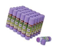 Washable 0.28-Ounce Glue Sticks, 30-Piece Pack, Purple