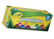 Crayola Washable Kids Paint set of 10 Bottles