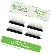 Crucial Vacuum 4-Pack Washable and Reusable HEPA Filter for